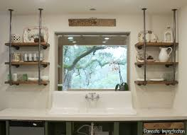 shelves in kitchen ideas industrial pipe kitchen shelving domestic imperfection