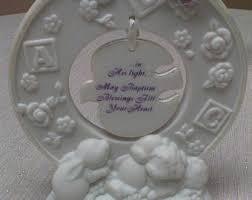 baptism engraving baptism plaque etsy