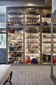shoe and boot cabinet glass bag cabinet design ideas