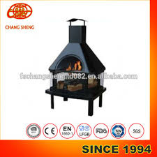 Steel Chiminea New Design House Shaped Bbq U0026 Fire Pit Steel Chiminea With Chimney