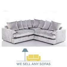 silver tufted sofa we sell any sofas crushed velvet leather fabric u0026 corner