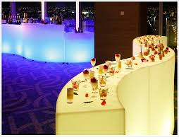 led buffet display meetings imagined