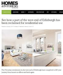 Home And Interiors Scotland Mcdonnell Drumsheugh Gardens Featured In Homes