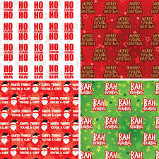 cheap christmas wrapping paper rude christmas wrapping paper selection
