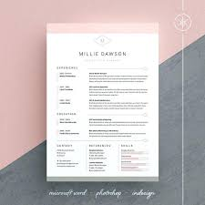 indesign resume template free templates web cover letter doc 2