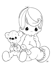 precious moments boy coloring pages free
