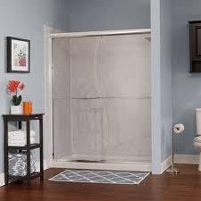 wet republic catalina 60 u0027 u0027 x 76 u0027 u0027 double sliding shower door wayfair