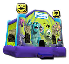 monsters wow party rentals