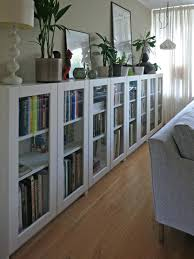 Wide Bookcase With Doors Wide Bookcase With Doors White Wooden Book Cabinet With Glass Door