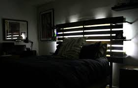 Headboards With Built In Lights Bedrooms Excellent Awesome Modern Master Bedroom Master Bedroom