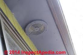 bathroom exhaust fan terminations at walls u0026 roofs bath vent duct