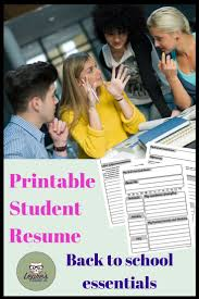 Beowulf Resume Top 25 Best Resume Templates For Students Ideas On Pinterest