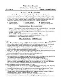 marketing executive resume executive resume