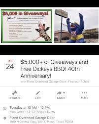 Buffalo Overhead Door by Community Outreach And Events Plano Overhead Door