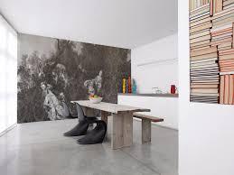 Toile De Jouy Decoration Damask Panoramic Wallpaper With Textile Effect Toile De Jouy 02