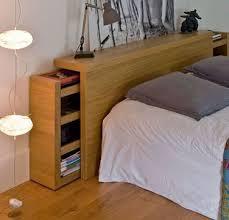 chambre à coucher fly tête de lit avec rangement fly à référence sur la décoration de la