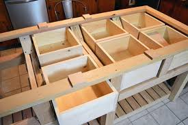 how to build a rustic kitchen island part 1 framing and drawers
