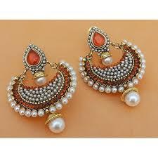 craftsvilla earrings buy beautiful orange color earrings online craftsvilla