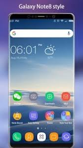 prime apk note 8 launcher galaxy note8 launcher theme v2 0 prime apk apps