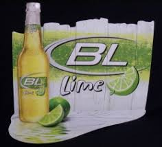 bud light tin signs light lime beer bar tin tacker sign