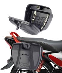 honda cbr 150 used bike spedy bike stylish side luggage holder with lock for bajaj pulsar