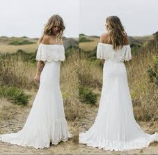 discount 2018 boho country style wedding dresses off the