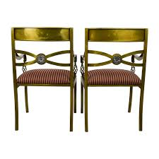 89 off custom made antique gold wrought iron chairs chairs