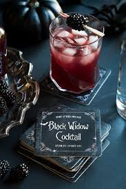 black widow cocktail 18 halloween cocktails to terrify your
