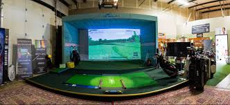 Home Golf Simulator by Home Birdiefinish Golf Full Service Game Improvement Studio
