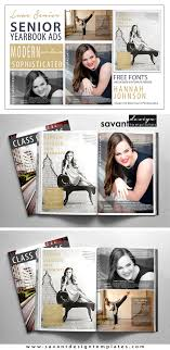 senior yearbook ad templates modern sophisticated yearbook ad templates http www etsy