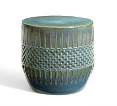 west elm accent table ceramic ethnic accent side table pottery barn in ceramic end tables