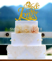 acrylic wedding cake topper monogram mr and mrs cake topper design
