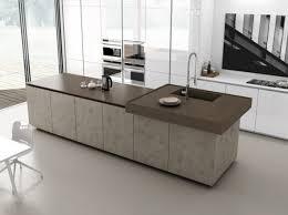 ilot cuisine avec table cuisine moderne avec ilot cuisines poignees inox tours kuestermgmt co