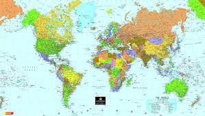 carte monde noir et blanc politique carte le pays ville