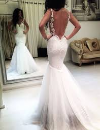 backless wedding dresses best 20 backless mermaid wedding dresses ideas on no