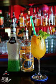 Mango Bomb mango bomb served at the rooftop lounge nha trang picture of the