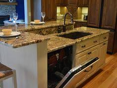 Kitchen Islands With Sink And Dishwasher Kitchen Island With Wine Cooler Kitchen Pinterest Wine