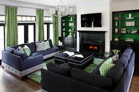 Blue And White Living Room Decorating Ideas Brilliant Shades Of Green For Your Living Room