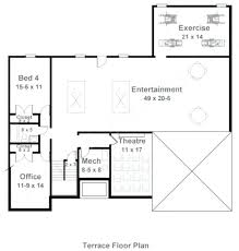 how to design a basement floor plan finished basement floor plans novic me