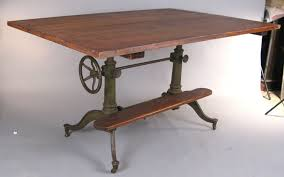 Iron Drafting Table Exceptional Antique Cast Iron Adjustable Drafting Table At 1stdibs