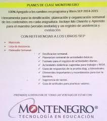 examen montenegro 3 grado primaria planeacion primaria montenegro de 1 6 kit 299 00 en mercado