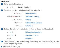 solving systems of equations by graphing and elimination and