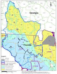 Florida Aquifer Map by Santa Fe Maps Suwannee Hydrologic Observatory