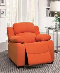 blue fabric kids recliner chair cm6007 best buy furniture direct