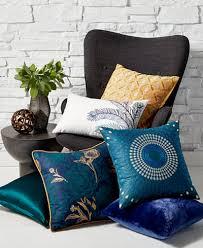decorative pillows bed closeout hallmart collectibles jewel tone decorative pillow