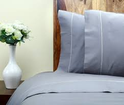 sateen bed sheets 400 tc organic sateen sheets set grey color one park linens