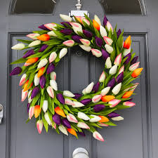 celebrating spring with the big door wreath company boo u0026 maddie
