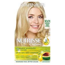 morrisons garnier nutrisse pearly blondes 10 1 product information