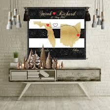 wedding gift husband wedding gift mothers day gift gift wall prints poster map