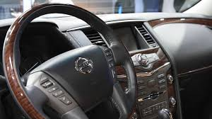 nissan armada platinum interior 2017 nissan armada unveiled with 8 500 pound towing capacity